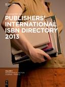 Publishers International ISBN Directory 2013