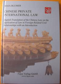 Cover Chinese Private International Law