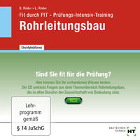 Cover Fit durch PIT · Prüfungs-Intensiv-Training Rohrleitungsbau, CD-ROM