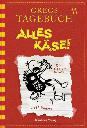 Cover Gregs Tagebuch - Alles Käse!