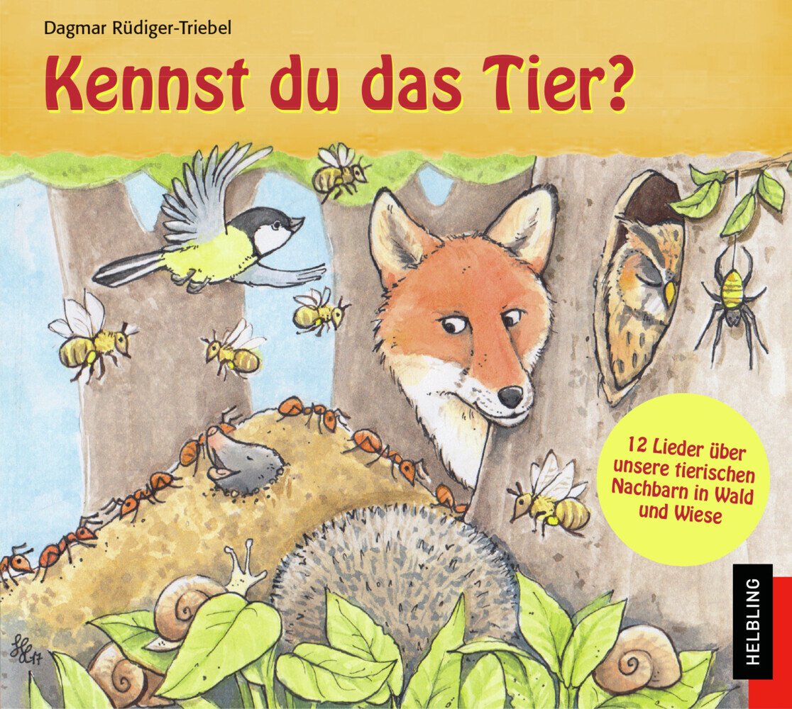 Kennst du das Tier?, 1 Audio-CD