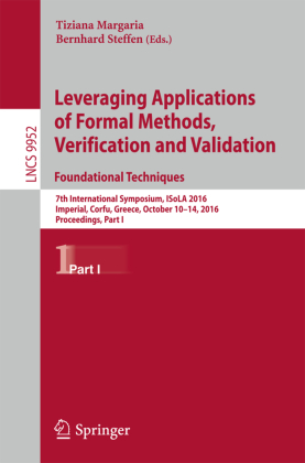 Cover Leveraging Applications of Formal Methods, Verification and Validation: Foundational Techniques