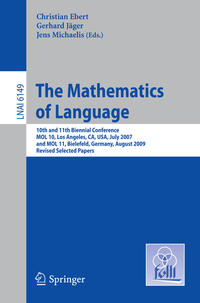 Cover The Mathematics of Language