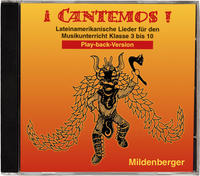 Cover ¡ Cantemos ! / iCantemos! – Lateinamerikanische Lieder auf CD, Play-back-Version