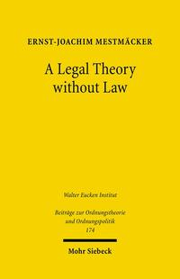 Cover A Legal Theory without Law