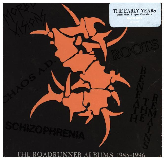 The Roadrunner Albums: 1985 - 1996, 6 Audio-CDs