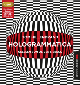 Cover Hologrammatica, 3 MP3-CDs