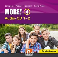 MORE! 4 Audio CD Enriched Course 1-4 NEU