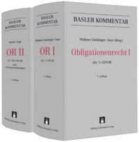 Cover Basler Kommentar Obligationenrecht I + Obligationenrecht II