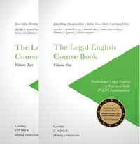 Cover The Legal English Course Book Volume One & Volume Two