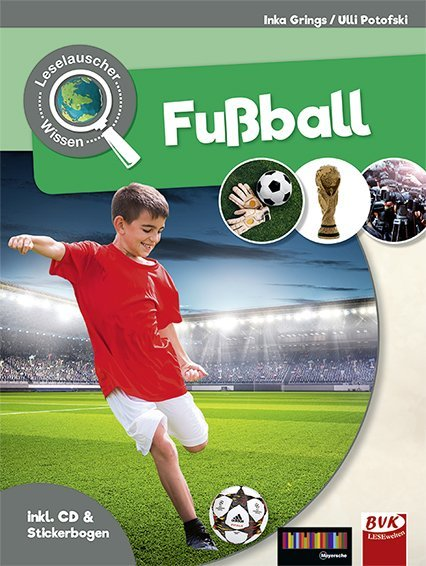 Cover Fußball, m. Audio-CD