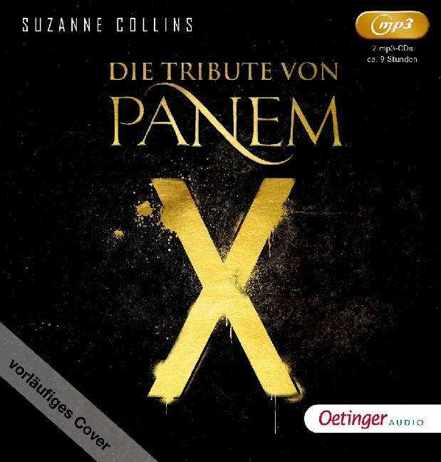 Die Tribute von Panem - Untitled Novel, 1 Audio-CD, MP3