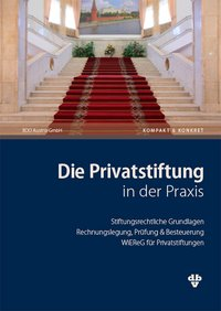Cover Die Privatstiftung in der Praxis