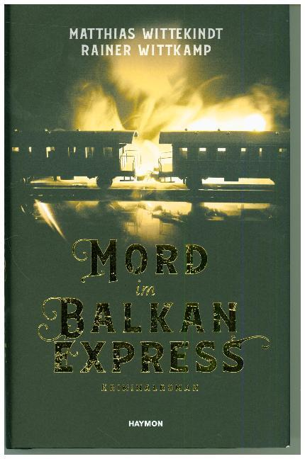 Cover Mord im Balkanexpress