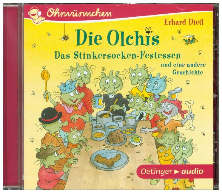 Cover Die Olchis, 1 Audio-CD