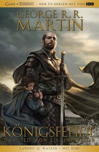 Cover George R.R. Martins Game of Thrones - Königsfehde