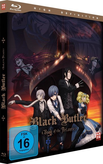 Black Butler: Book of the Atlantic - Blu-ray