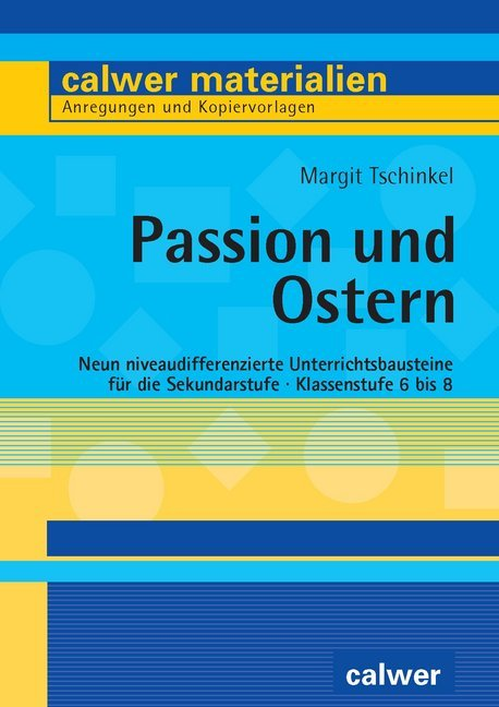 Cover Passion und Ostern