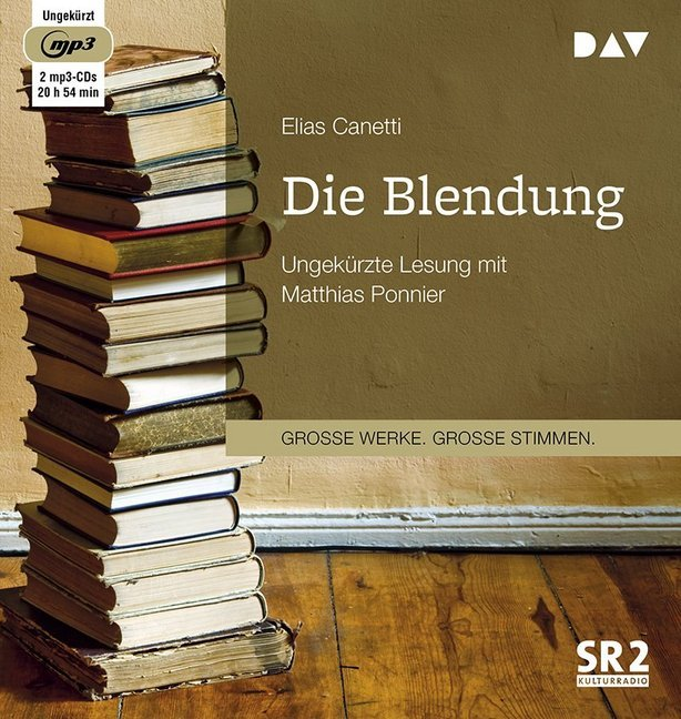 Cover Die Blendung, 2 MP3-CDs