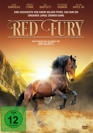 Cover Red Fury, 1 DVD