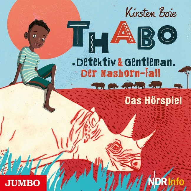 Cover Thabo. Detektiv und Gentleman - Der Nashorn-Fall., 1 Audio-CD
