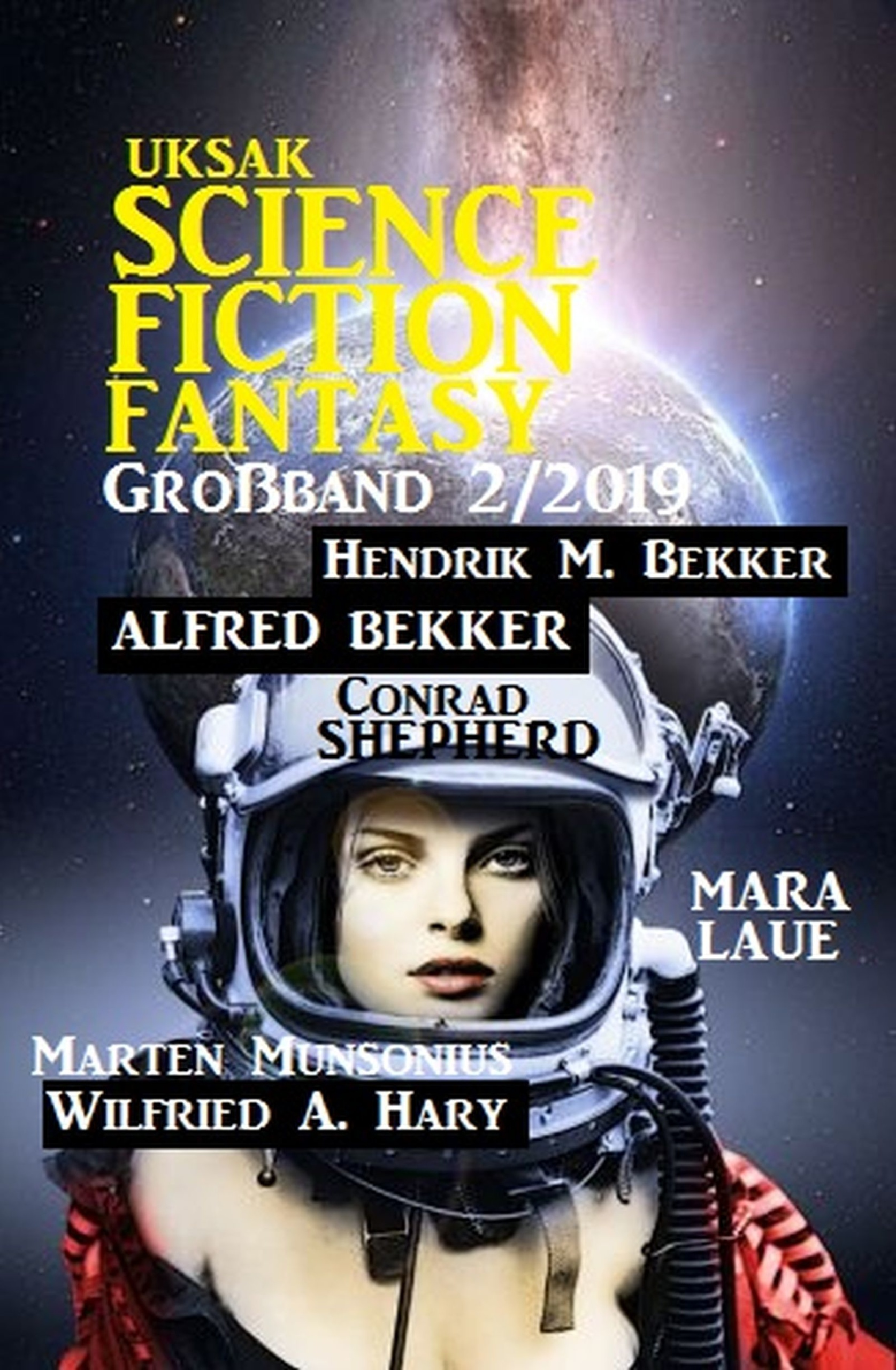 Uksak Science Fiction Fantasy Großband 2/2019