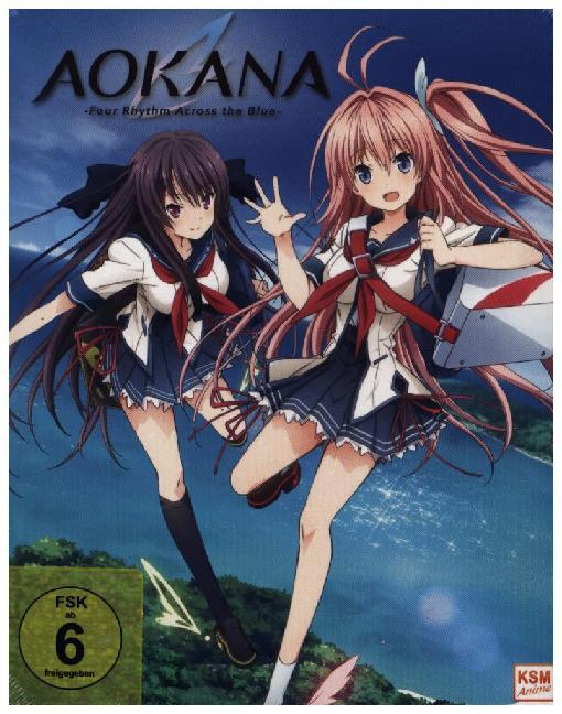 Aokana - Four Rhythm Across the Blue - Gesamtedition, 2 Blu-ray
