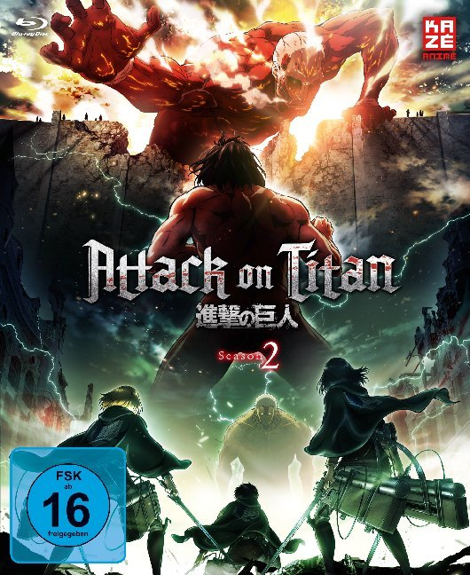 Attack on Titan - 2. Staffel - Blu-ray 1 mit Sammelschuber (Limited Edition)