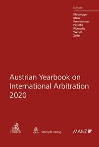Cover Austrian Yearbook on International Arbitration 2020