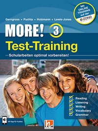 Cover MORE! 3 Test-Training General Course und Enriched Course