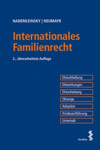 Cover Internationales Familienrecht