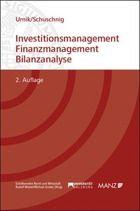 Cover Investitionsmanagement - Finanzmanagement - Bilanzanalyse