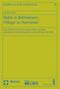 Cover Batik in Bethlehem, Hikaye in Hannover