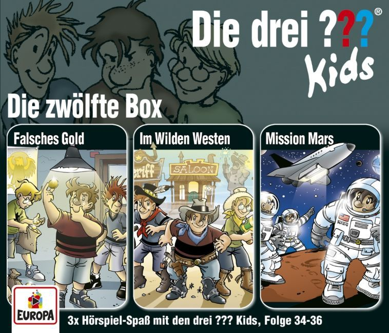 Die drei ??? Kids, 3er Box. Box.12, 3 Audio-CDs