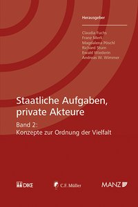 Cover Staatliche Aufgaben, private Akteure