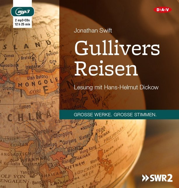 Gullivers Reisen, 2 MP3-CDs
