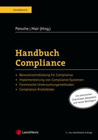 Cover Handbuch Compliance