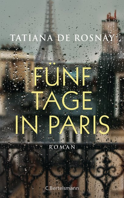 Cover Fünf Tage in Paris