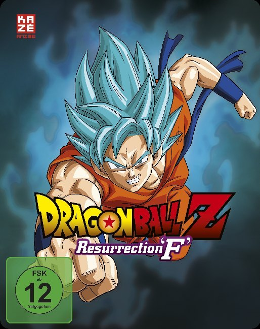 Dragonball Z: Resurrection 'F' - Steelbook - Limited Edition (DVD und Blu-ray)