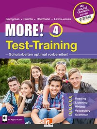 Cover MORE! 4 NEU Test-Training General Course und Enriched Course