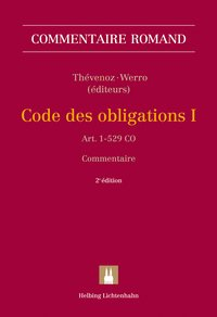 Cover Code des obligations I