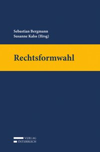Cover Rechtsformwahl