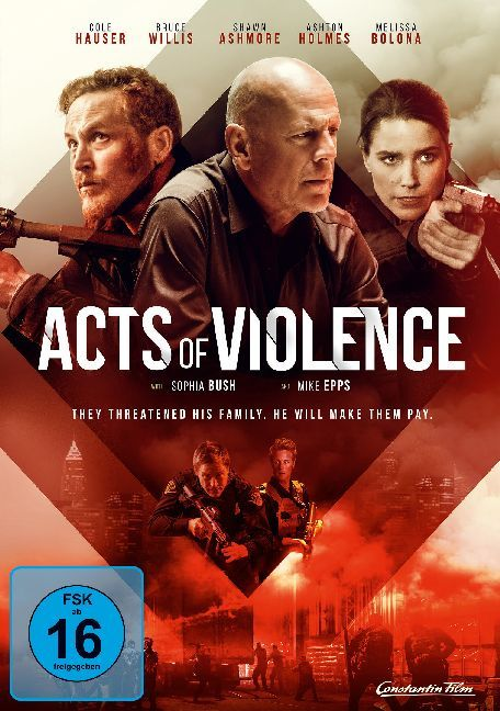 Cover Acts of Violence, 1 DVD