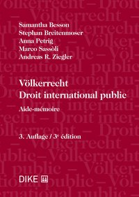Cover Völkerrecht - Droit international public