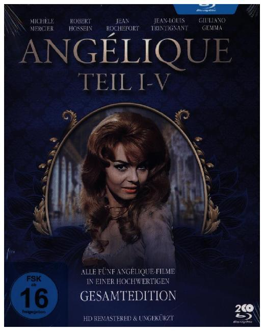Angélique I-V - Gesamtedition (Alle 5 Filme - HD remastered). 2 Blu-rays
