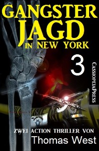 Cover Gangsterjagd in New York 3 - Zwei Action Thriller