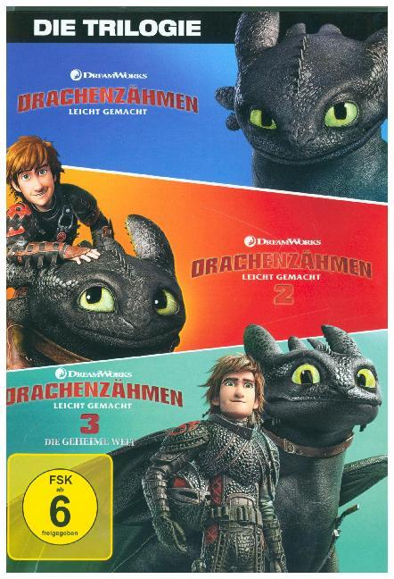 Drachenzähmen leicht gemacht 1 - 3 Movie Collection