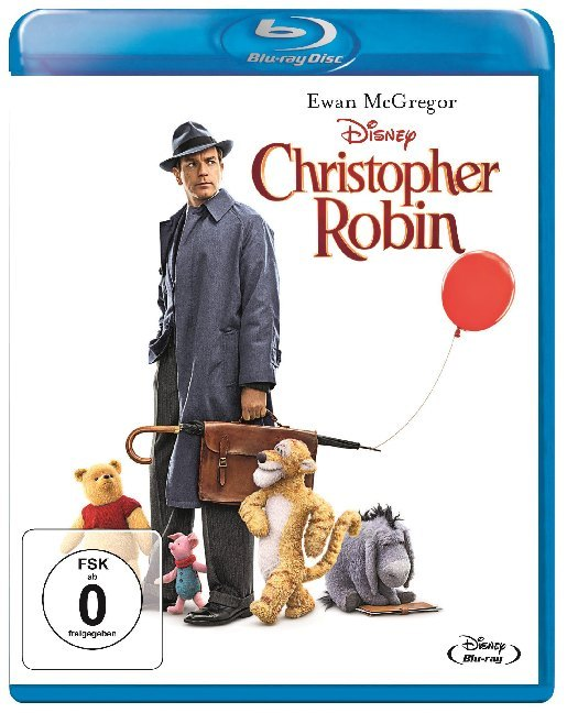 Christopher Robin, 1 Blu-ray