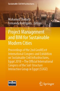 Cover Project Management and BIM for Sustainable Modern Cities