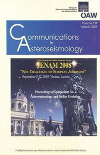 Cover Communications in Asteroseismology Volume 159, 2009